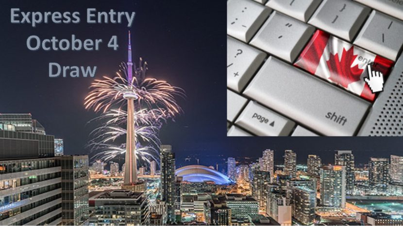 Express Entry Draw October 4