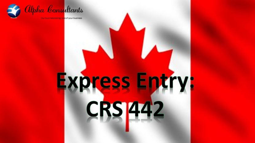 Express Entry CRS 442