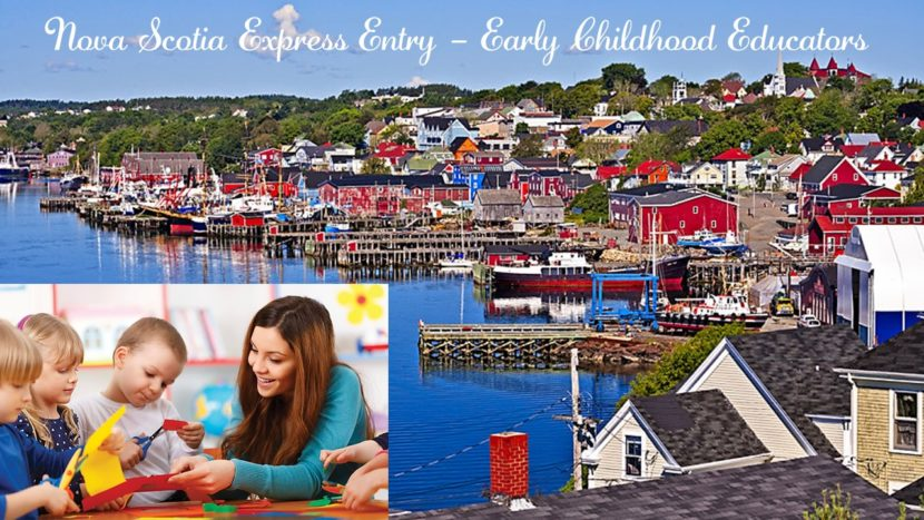 Nova Scotia Express Entry Stream invite early childhood educators