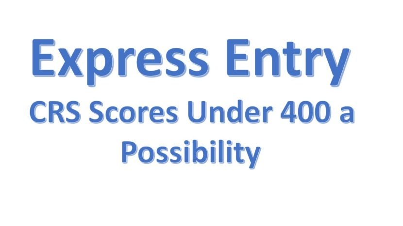 More Express Entry-linked draws with CRS under 400 'possible