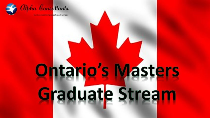 Ontarios Masters Graduate Stream reopens briefly
